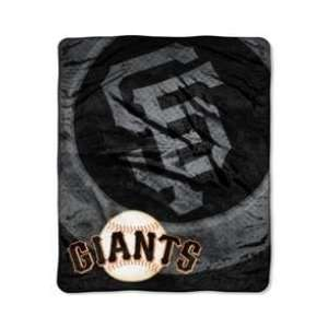 San Francisco Giants Royal Plush Super Plush Blanket Home & Kitchen