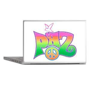 Laptop Notebook 15 Skin Cover Paz Spanish Peace with Dove