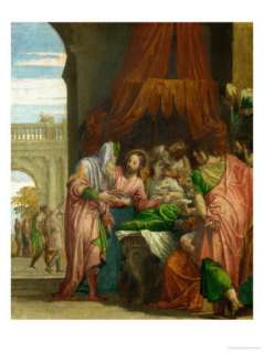 Daughter of Jairus Giclee Print by Paolo Veronese at AllPosters