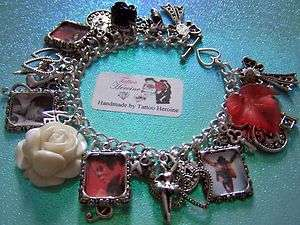 MICHAEL JACKSON**KING OF POP** Charm Bracelet