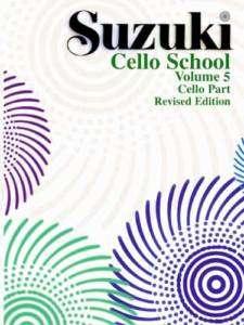 Suzuki Cello School Volume 5   Book   FRIENDLY SERVICE