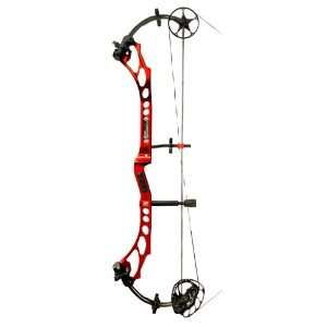 PSE Bow Madness XL Compound Bow Red / Right Hand:  Sports