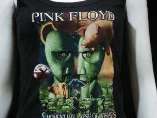 Pink Floyd Division Bell T Shirt Tank Top Women M Black