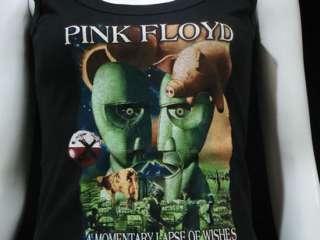 Pink Floyd Division Bell T Shirt Tank Top Women M Black