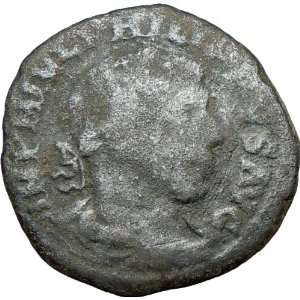244AD Viminacium Sestertius LEGIONS Ancient Roman Coin Bull & lion