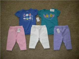 baby girl summer clothes 0 3 months Childrens Place, Carters, some NWT