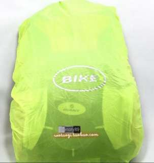 New 2012 Cycling Bike Bicycle Sports bag Backpack Grey With Rain Cover