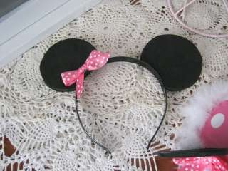 Birthday Party Hat Minnie mickey Mouse Ears and personalized