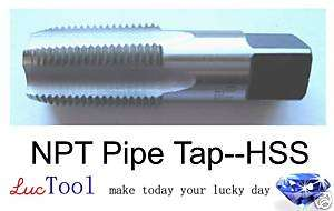 14 NPT pipe tap, HSS(M2), Brand New