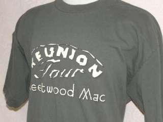FLEETWOOD MAC CONCERT t shirt 2009 REUNION TOUR XL