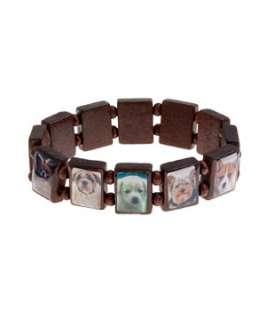 null (Multi Col) Teens Dog Wooden Bracelet  253236899  New Look