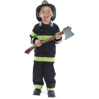Fire Fighter (red) Boy Toddler Fireman Costume Size 2T
