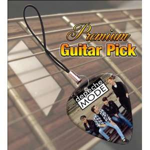 Depeche Mode (1) Premium Guitar Pick Phone Charm Musical