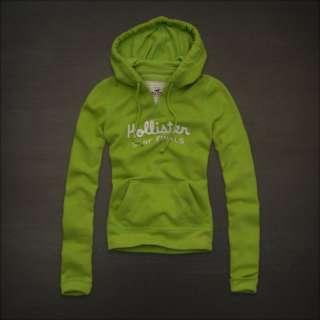 NWT HOLLISTER Abercrombie Womens Sweatshirt Fleece Hoodie   M, L
