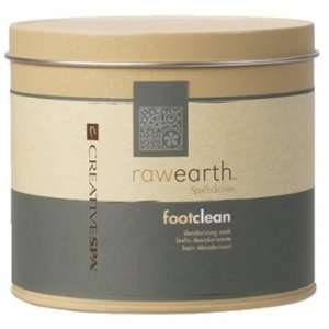 Spapedicure Raw Earth Foot Clean   14.0 Oz: Beauty