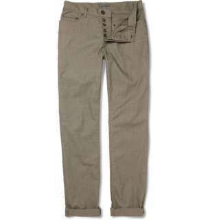 Clothing  Jeans  Slim jeans  Pick Stitch Straight Leg Jeans
