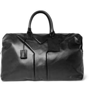 Yves Saint Laurent Hamptons Large Leather Holdall Bag  MR PORTER
