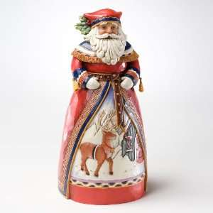 Jim Shore Lapland Santa with Deer *NEW 2011*