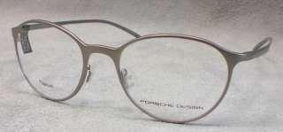 PORSCHE DESIGN Brille P8186 col B silber TITAN Panto