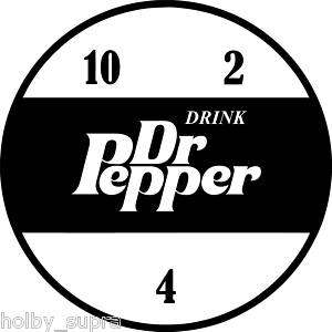 Dr Pepper Vintage Decal 10, 2, 4 Vinyl Sticker Antique