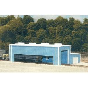 Pikestuff N Scale Atkinison Engine Facility Kit (Blue) Toys & Games