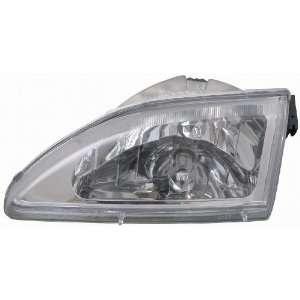 Depo 331 1142PXAS1 Ford Mustang Chrome Diamond Headlight