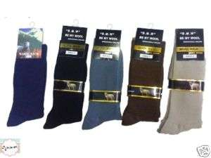12 BOYS Merino Wool Blend Dress SOCKS sz 2 8 NAVY