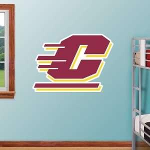 NCAA Central Michigan Logo Vinyl Wall Graphic Decal