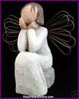 WILLOW TREE ANGELS ANGEL OF CARING FRIEND LOVE NIB