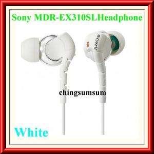 Sony MDR EX310SL Inner Ear Stereo Headphone (White)