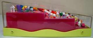 Rare Squinkies Store Display Hello Kitty Barbie Disney Princess