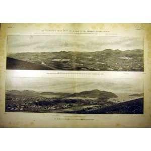 1904 Port Arthur Village Japanese War Russian View: Home