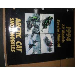 Arctic Cat ZR Models Snowmobile Service Manual OEM Arctic Cat Books