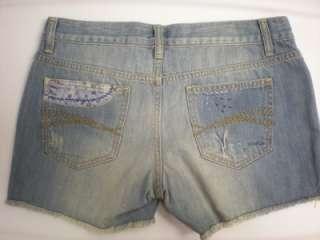 NWT Old Navy Ultra Low Waist Blue Denim Jean Shorts 10