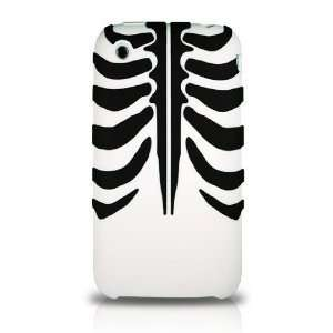 WG] HAND MADE APPLE IPHONE 3 3G 3GS EZCAPES BONE (WHITE) HIGH QUALITY