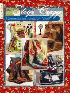 Strip Crazy Book   8 Quilts from Jelly Rolls Pattern