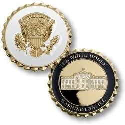 White House Washingtom D.C. Challenge Coin