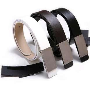 Mens Premium Stylish Fashion Buckle PU Leather belt