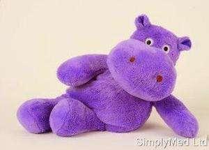 Warming Wheat BagCute Hippo TeddyLavender Scented4xColoursCute