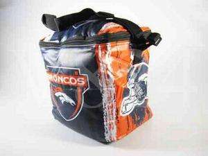 NFL Denver Broncos Ice Chest Lunch Box Cooler Bag