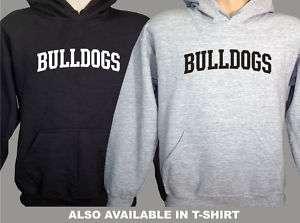 Georgia Bulldogs College Letters Hooded Sweatshirt