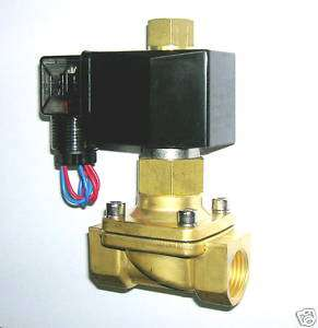 Electric Solenoid Valve 120 VAC NORMALLY OPEN, new