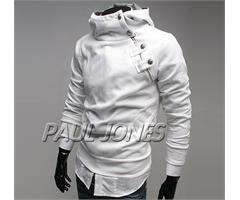 WHITE PAUL JONES WINTER MENS COAT JACKET COATS OUTERWEAR,SIZE M SMART