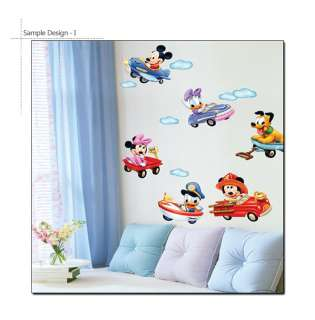 MICKEY & MINNEY MOUSE DISNEY CHARACTER WALL STICKERS
