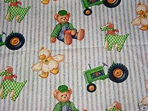 JOHN DEERE TEDDY BEAR NURSE & VET SCRUB