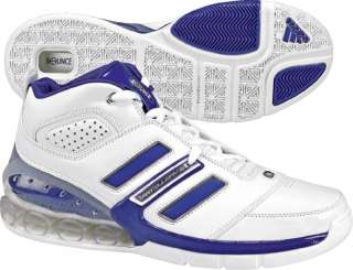 ADIDAS BOUNCE BASKETBALL SHOES (674521) WHITE/ROYAL