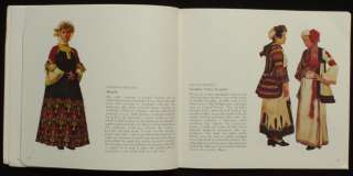 BOOK Greek Folk Costume antique regional ethnic dress Ottoman fashion