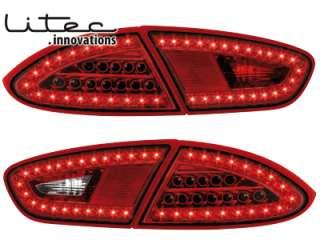 Seat Leon 1P1 LITEC LED Rückleuchten 09+ rot/klar