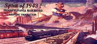 PRR advertising billboard #3 for your American Flyer or Lionel train