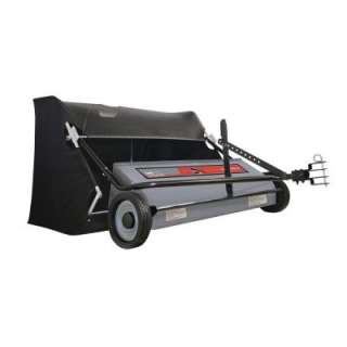 50 in. 26 Cu. ft. Extra Wide Lawn Sweeper 50SWP26 at The Home Depot